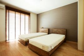 気遣いのある寝室