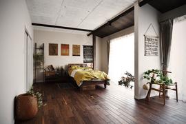 ノスタルジックな寝室